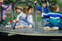 Children on a playground; Size=240 pixels wide